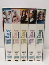 Benny Hill The Golden Laughter Series TV Vintage 1997 VHS Box Set of 5 (3 Brand New Sealed) in Chicago, Illinois