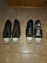 Women's Black Designer Converse All-Stars - LIKE NEW CONDITION in Fort Belvoir, Virginia