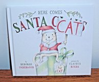 NEW Here Comes Santa Cat Hard Cover Book Young Readers Underwood Rueda Age 3 - 5 in Chicago, Illinois