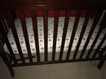 Toddler crib with new bed in Chicago, Illinois