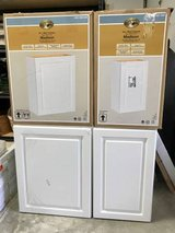 "Hampton Bay 18"" and 24"" White Wall Cabinets - New! in Oswego, Illinois"