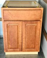 "Base Cabinet 24"" x 24"" x 34.5"" High Cognac - New! in Oswego, Illinois"