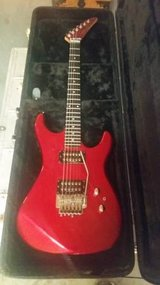 Kramer Striker 200ST 1987 Candy Apple Red Floyd Rose Trem in Lockport, Illinois