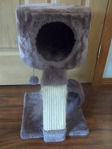 Cat Tree Condo with Scratching Post.. soft & cozy material in Tacoma, Washington