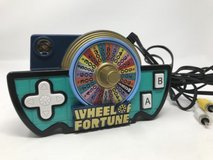Jakks Pacific Wheel of Fortune Game Show Plug n Play TV Game in Joliet, Illinois