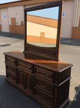 Nice Lowboy Dresser and Mirror - Delivery Available in Fort Lewis, Washington