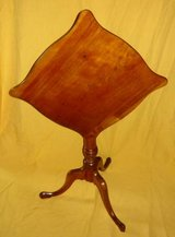 Antique Tilt-Top Accent Table in Schaumburg, Illinois