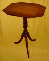 Vintage Octagon Top Accent Table in Bartlett, Illinois