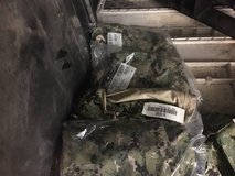 Navy Expeditionary camouflage utilities and jackets in Camp Pendleton, California