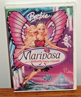 NEW Mattel Barbie Mariposa and Her Butterfly Fairy Friends DVD w Bonus Features in Plainfield, Illinois
