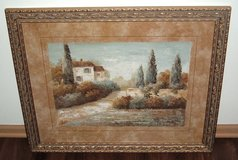 Vivian Flasch Tuscan Blue I Matted Framed Painting Print Italian Landscape Art in Joliet, Illinois