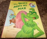 Vintage 1998 The Grinch Meets His Max The Wubbulous World of Dr. Seuss Hard Cover Book in Morris, Illinois