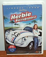 NEW Disney Herbie Fully Loaded DVD '63 VW White Racing Beetle The Love Bug Sequel NASCAR in Yorkville, Illinois