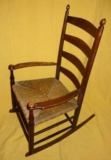 Vintage Pre-Stickley Rocking Chair in Bartlett, Illinois