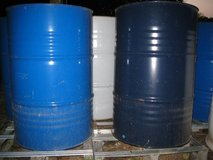 55 Gallon Steel Drums / Barrels For Wood Stove / Burn / Grill Smoker in Elgin, Illinois