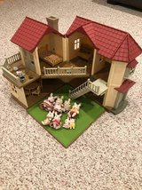 Calico Critters Townhome with furniture & 8 Rabbit Figures in Glendale Heights, Illinois