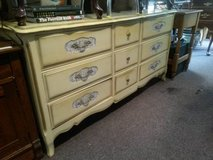 Cream French Dresser in Elgin, Illinois
