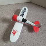 Spec Cast Mobilgas vintage airplane bank 1992   2nd in series Travel Air Model R in Lockport, Illinois