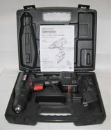"""SEARS CRAFTSMAN 3/8"""" 7.2 Volt Cordless Drill with Case in Oswego, Illinois"""