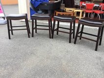 NEW Four Kimi Saddle Barstools - Delivery Available in Fort Lewis, Washington