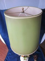 Lamp Shade Olive Green Marshall Field's ~ VINTAGE 1970s ~ EXCELLENT in Aurora, Illinois