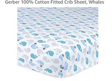 Nautical Crib Fitted Sheets in Fairfax, Virginia