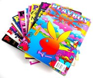 Playboy Magazine 2000 Complete Year Jan - Dec 12 Issues All With Centrefolds in Morris, Illinois