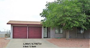 3 Bedroom Home in Northeast EP! Large Lot 0.20acre in El Paso, Texas