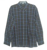 Mens Large Club Fellow Plaid Button Down Shirt w Pocket Mens Large Blue Green Red White in Joliet, Illinois