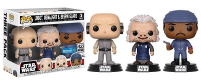 NEW Funko Movies: POP! Star Wars - Cloud City 3 Pack, Lobot, Ugnaught, Bespin Guard in Yorkville, Illinois
