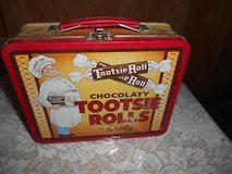 Vintage TOOTSIE ROLL Tin Lunch Box! Nice condition. Clean inside in Kingwood, Texas
