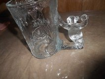 20 0z. COCA COLA Drinking Glass / Mug with Thick Glass POLAR BEAR Handle!  Christmas Item and/or... in Kingwood, Texas