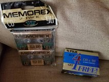 7 brand new cassette tapes in sealed wrapping in Camp Pendleton, California