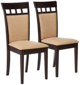 Furniture Coaster Company Cushion Back Dining Chairs, Cappuccino (Set of 2) in Westmont, Illinois