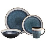 Mikasa Gourmet Basics Reed dinnerware 4 place settings in Fairfax, Virginia