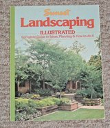 Vintage 1984 Sunset Landscaping Illustrated Guide To Ideas Planning How-To-Do-It in Chicago, Illinois