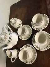 Home for the Holidays tea set in Fort Hood, Texas