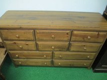 Solid Wood 10 Drawer Lowboy Dresser - Delivery Available in Tacoma, Washington