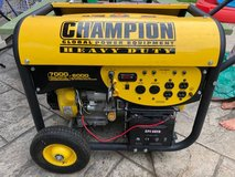 Champion Generator 7000/6000 Watts in Algonquin, Illinois