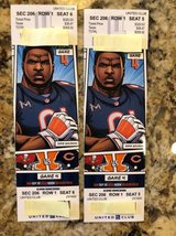 2 Chicago Bears vs Tampa Bay Buccaneers Tickets - United Club 206  FIRST ROW in Aurora, Illinois