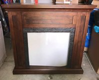 Fireplace Wood Mantel and Surround- Fireplace Insert NOT Included- New! in Oswego, Illinois