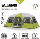 Core Equipment 12 Person Cabin Tent - Delivery Available in Tacoma, Washington