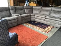Six Piece Reclining Modular Sectional Couch - Delivery Available in Fort Lewis, Washington