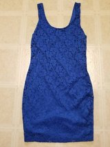Cute Royal Blue Stretchy lined sleeveless dress in Oceanside, California