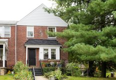 End Townhome in Catonsville with Fantastic Lot in Fort Meade, Maryland