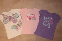 girls t-shirts OshKosh and The Children's Place tee bundle (size 5T) in Fort Belvoir, Virginia