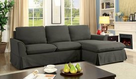 New Gray Maxine Linen Sectional Sofa FREE DELIVERY in Camp Pendleton, California
