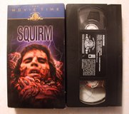 Vintage 1976 Squirm Worm Horror Video VHS Don Scardino, Patricia Pearcy Halloween in Yorkville, Illinois