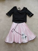 poodle costume for dress up or Halloween (child medium/8-10) in Fairfax, Virginia