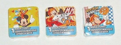 **NEW** Disney Mickey Mouse Magic Towel Wash Face Cloth Goofy Donald Duck in Plainfield, Illinois
